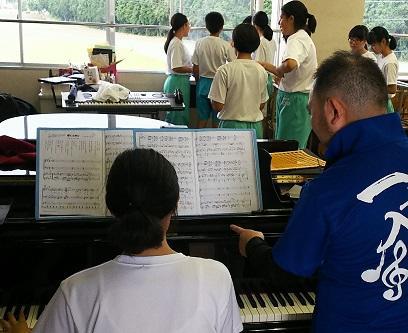 伴奏の練習にも力が入ります。